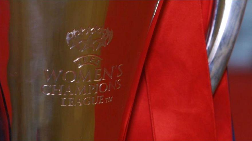Már otthon ünnepelnek az Olympique Lyon lányai
