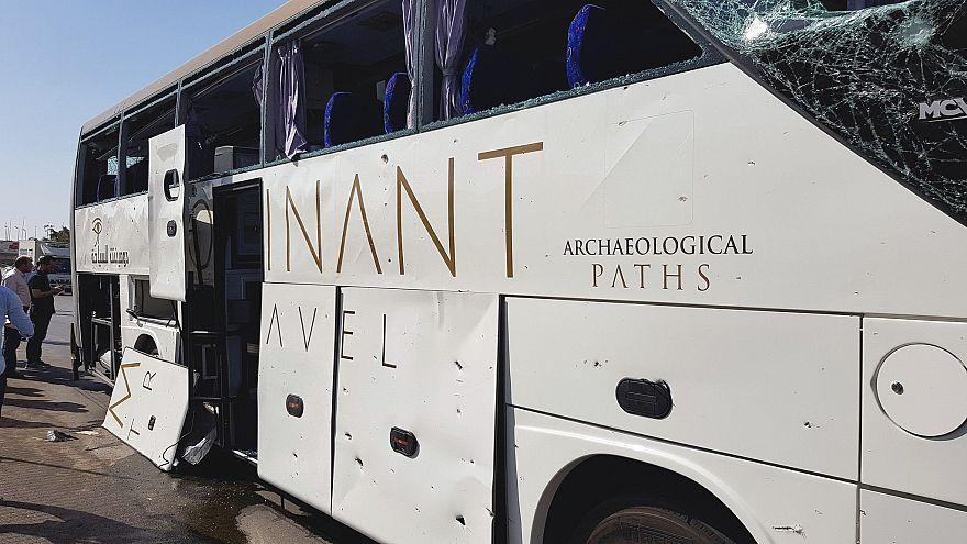 صورة للحافلة المستهدفة