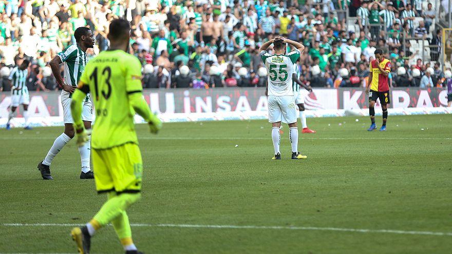 Bursaspor Göztepe'ye takıldı, küme düşen son 2 takım 34. hafta belli olacak