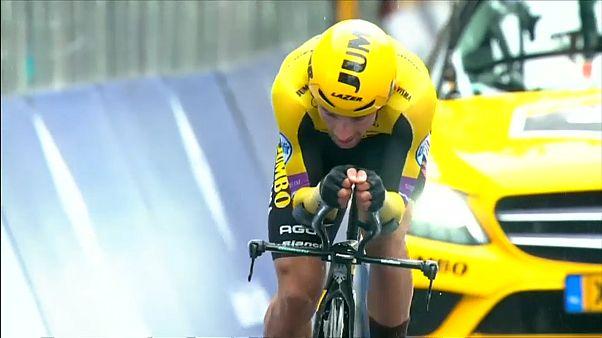 Giro d'Italia: Roglic vince la tappa n.9, Conti ancora in maglia rosa