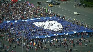 Bucarest: qui si festeggia il progetto europeo