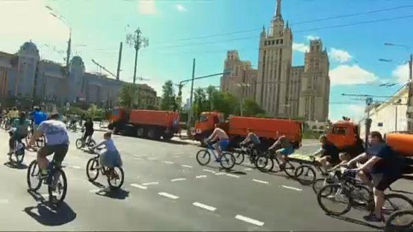 Велофестиваль в Москве