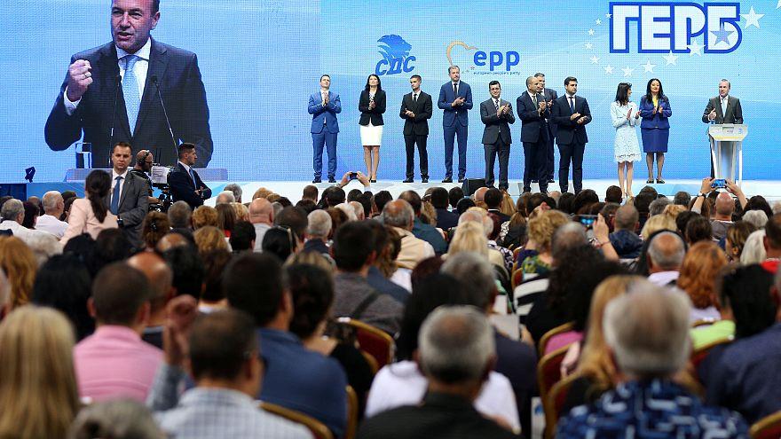 Bulgáriában kampányolt Manfred Weber