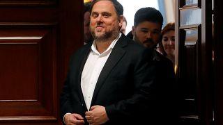 El líder de Esquerra Republicana de Catalunya, Oriol Junqueras.