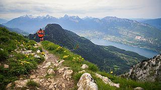 Venha correr pelos Alpes à volta do Lago de Annecy