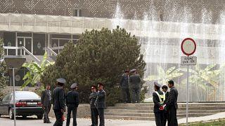 Tacikistan polisi