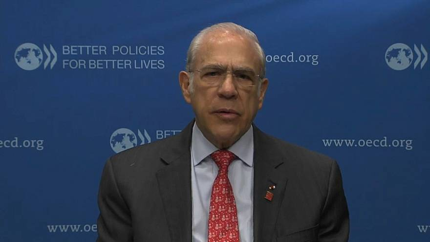 Angel Gurria, OECD Secretary General talks to Euronews