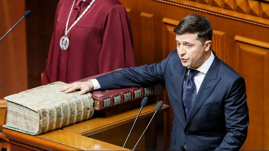 زلنسکی: پارلمان اوکراین را منحل میکنم