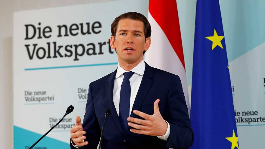 Le chancelier autrichien à Vienne, le 20 mai 2019