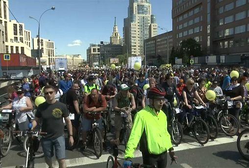 В Москве прошел велофестиваль