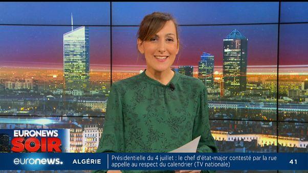 Euronews soir : l'essentiel de l'actualité du lundi 20 mai