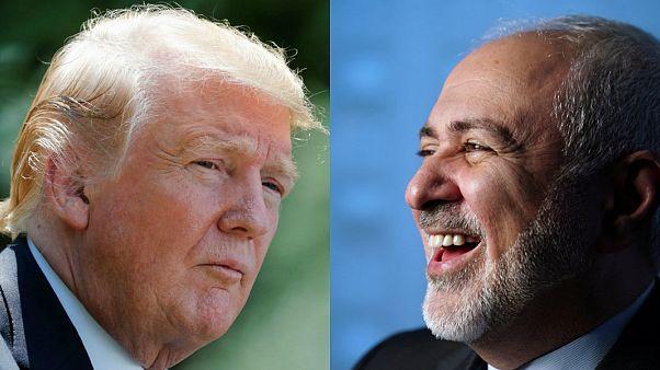 ABD Başkanı Donald Trump / İran Dışişleri Bakanı Cevat Zarif
