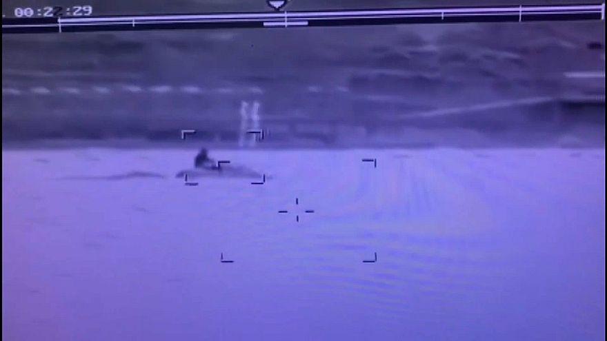 Jetski ile Türkiye kara sularına giren İsveçli gözaltına alındı