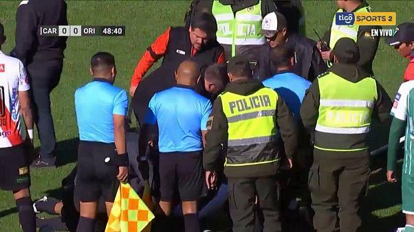 Πέθανε διαιτητής στη διάρκεια αγώνα ποδοσφαίρου