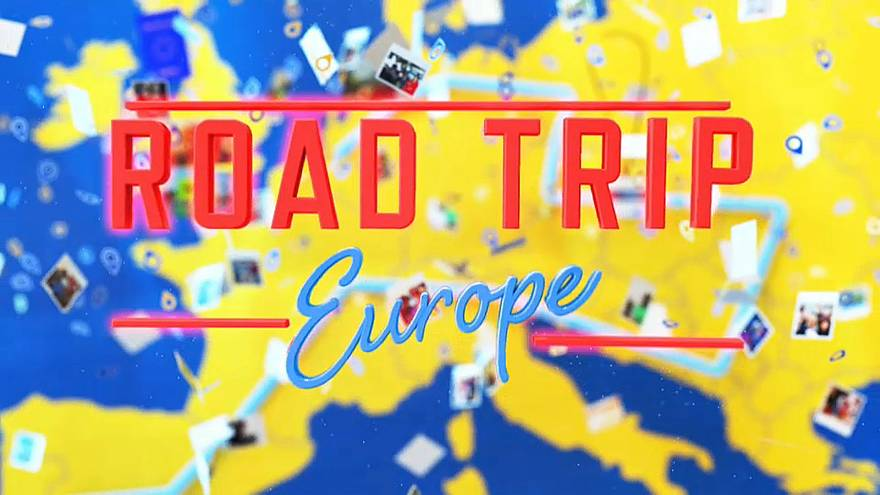 Sur la route des Européennes à Magdeburg en Allemagne