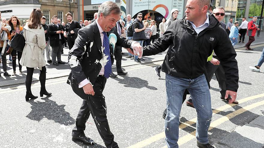 Image result for milkshake farage
