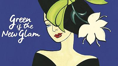 Monaco's 'Green is the New Glam' promotional poster