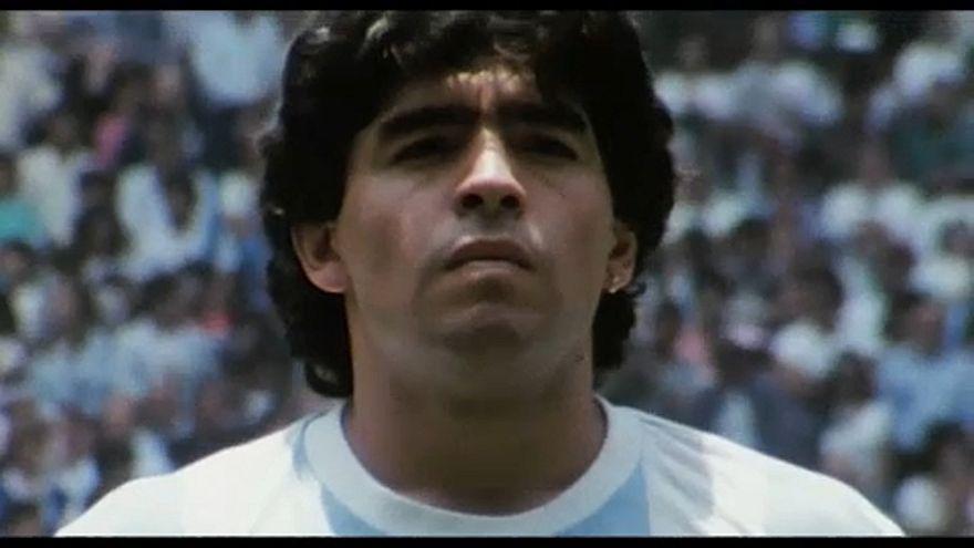 """""""Diego Maradona"""" : une tragédie footballistique présentée à Cannes"""