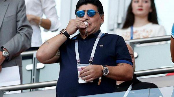 """""""دييغو مارادونا"""" كما لم تره من قبل ... في مهرجان كان السينمائي"""