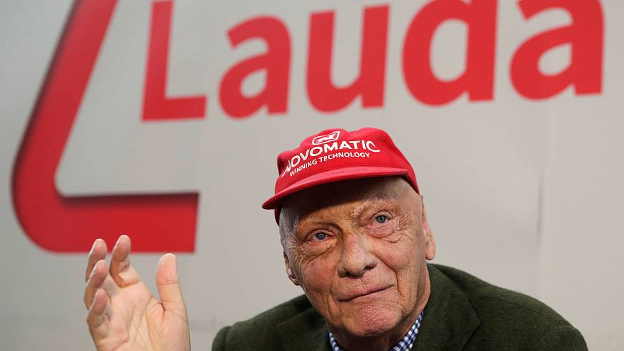 Former F1 champion Lauda dead at 70