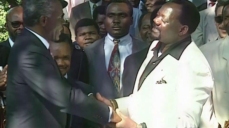 Restos mortais de Savimbi sepultados em junho
