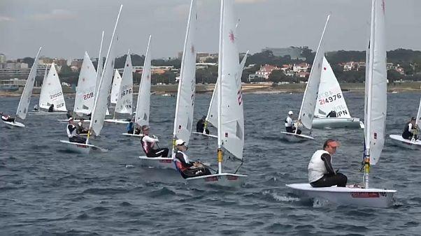 Campeonatos da Europa de vela classe Lase decorrem no Porto até sábado