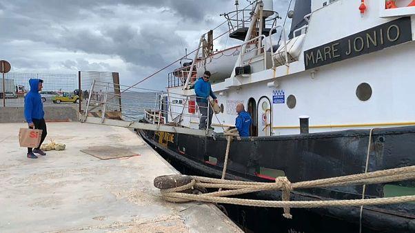 """""""Les réfugiés n'ont jamais cessé de débarquer ici, à Lampedusa"""""""
