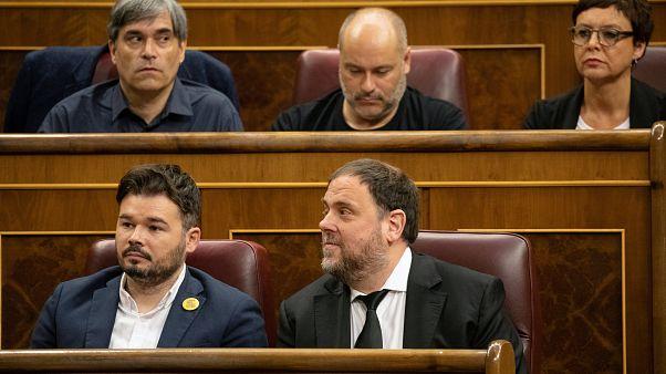 Si apre in Spagna la XIII legislatura: tra i deputati detenuti catalani e i neofranchisti di Vox