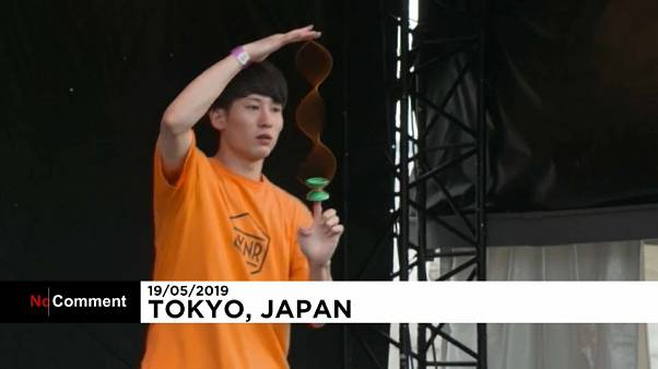 Extrem-Jo-Jo und Breakdance in Tokio