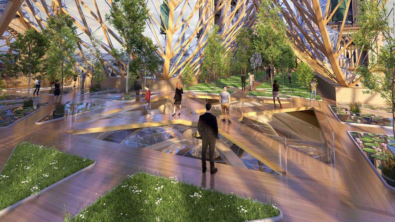Vincent Callebaut, eco-design for inside Notre Dame