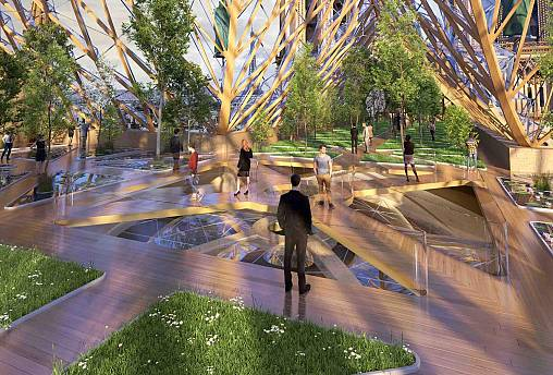 Vincent Callebaut, eco-design for inside Notre Dame