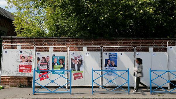 تنور سرد انتخابات پارلمان اروپا در آمیین زادگاه ماکرون