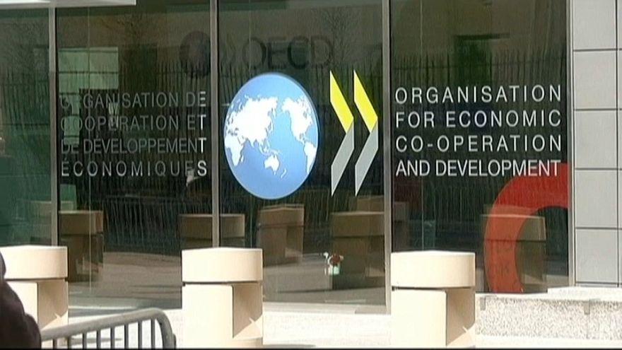 La OCDE rebaja sus pronósticos de crecimiento global