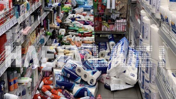 Ηλεία: Ζημιές από τον σεισμό 4,4 Ρίχτερ