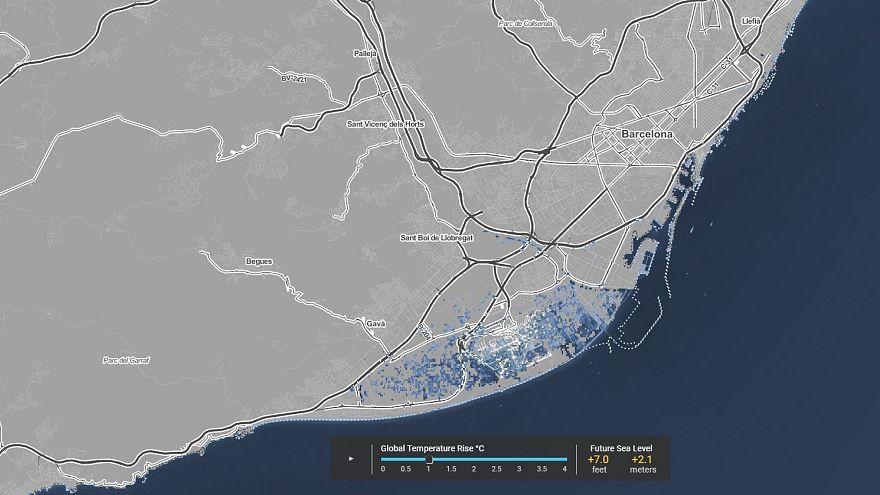 El aeropuerto de Barcelona podría quedar sumergido por el mar en los próximos 80 años