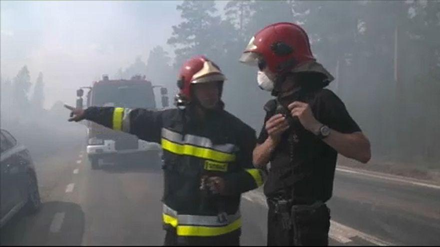 Bruxelas cria frota de combate a fogos