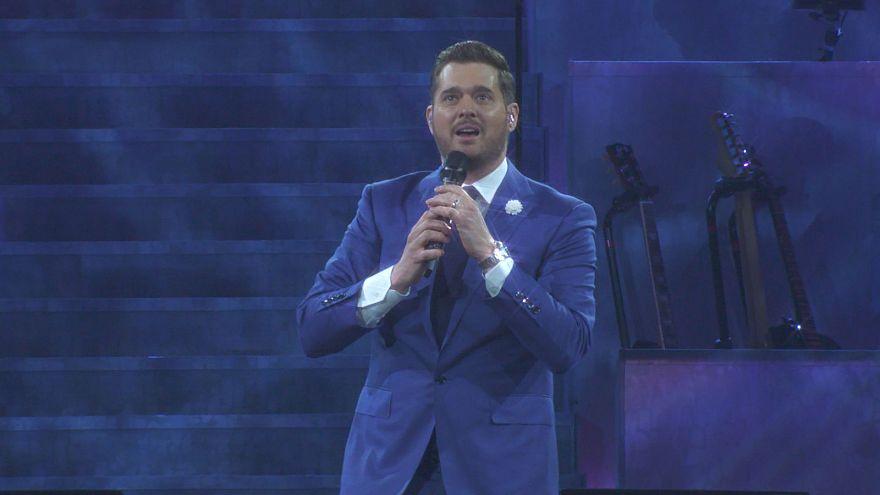 'Pop-caz müziğin kralı' Michael Buble dünya turnesinde