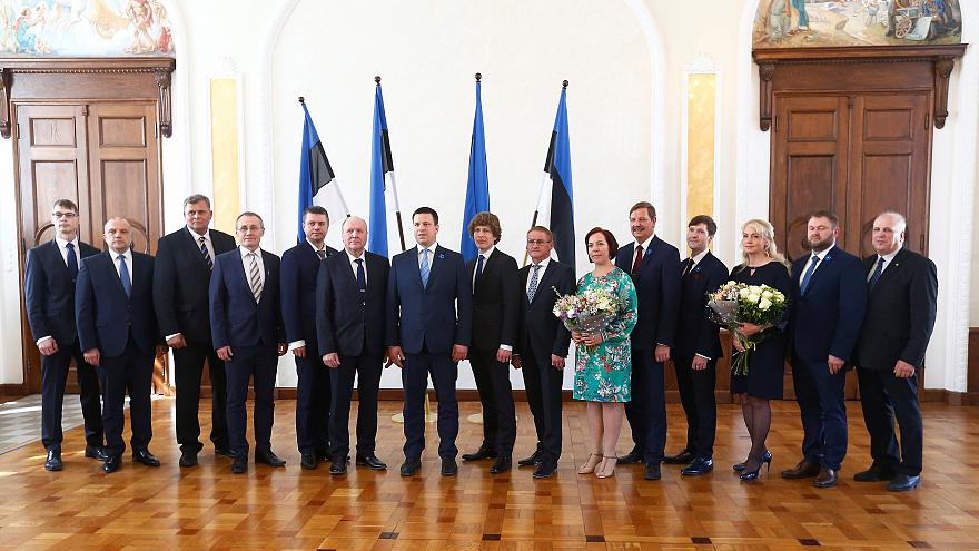 The new Estonian government