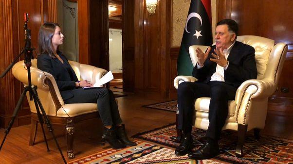 "Al-Serraj a Euronews: ""Haftar guida una banda di criminali e fanatici"""
