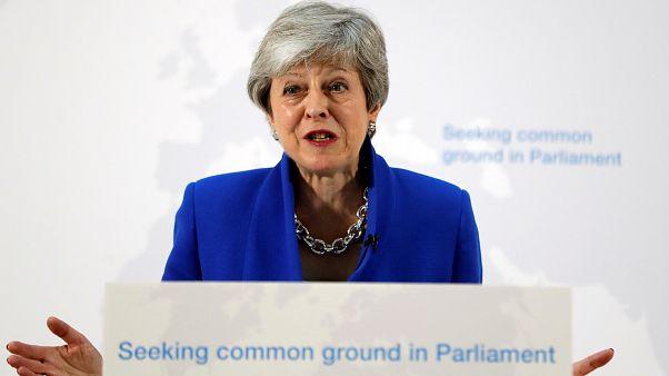 """May: """"Brexit"""" nur bei parteiübergreifender Zustimmung zu Deal"""
