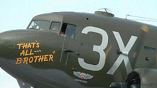 75. Jahrestag: D-Day Flugzeug kehrt in Normandie zurück