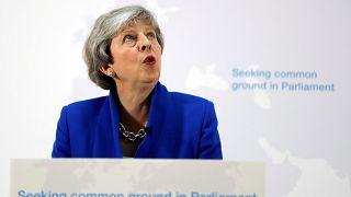 May propone a la Cámara de los Comunes votar sobre un segundo referéndum