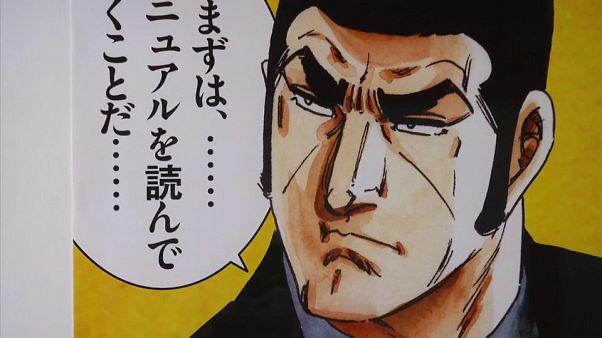un personaggio di una storia Manga