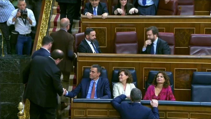 Inicio bronco de la XIII Legislatura en España