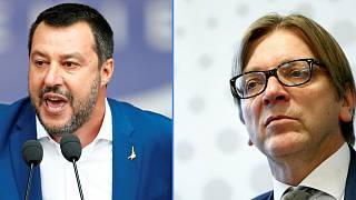 Nyilvános vitára hívta ki Salvinit Verhofstadt