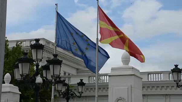 Macedonia del Norte sigue de cerca las elecciones europeas