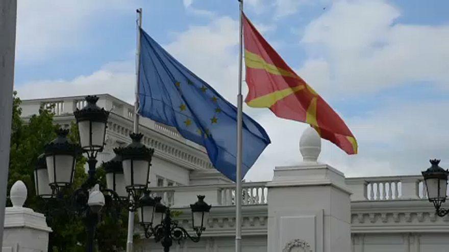 Skopje fiebert bei Europawahl mit