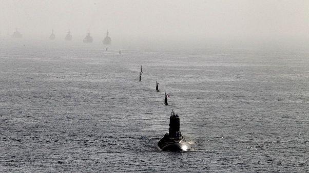 بخشی از ناوگان دریایی ایران در خلیج فارس