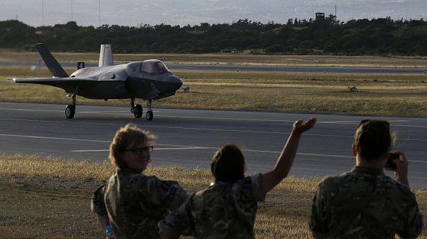 Βρετανικά F-35 για πρώτη φορά στο Ακρωτήρι