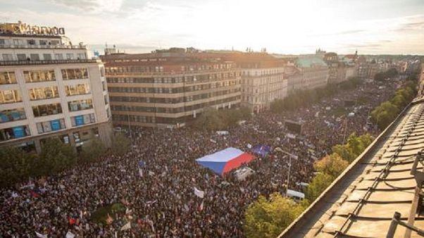 Τσεχία: Αντικυβερνητικές διαδηλώσεις